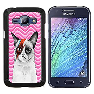 Dragon Case - FOR Samsung Galaxy J1 J100 J100H - Forever has no end - Caja protectora de pl??stico duro de la cubierta Dise?¡Ào Slim Fit