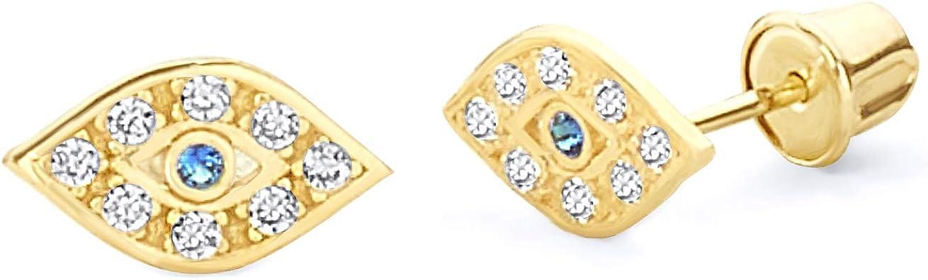 gold earring eye earrings 14K Gold Filled Stud Earrings gold studs studs Small evil eye earrings Evil eye earrings