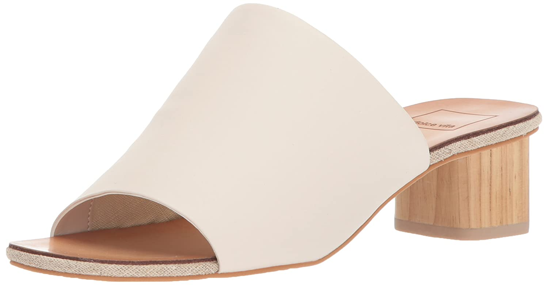 Dolce Vita Women's Kaira Slide Sandal B077NF1RGB 13 B(M) US|Ivory Leather