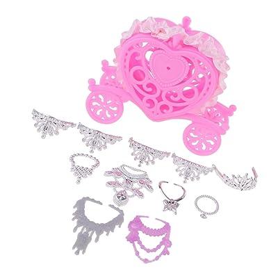 Voiture De Cadeau6 Magideal Colliers Accessoires 5 Couronnes thdsQrBCx