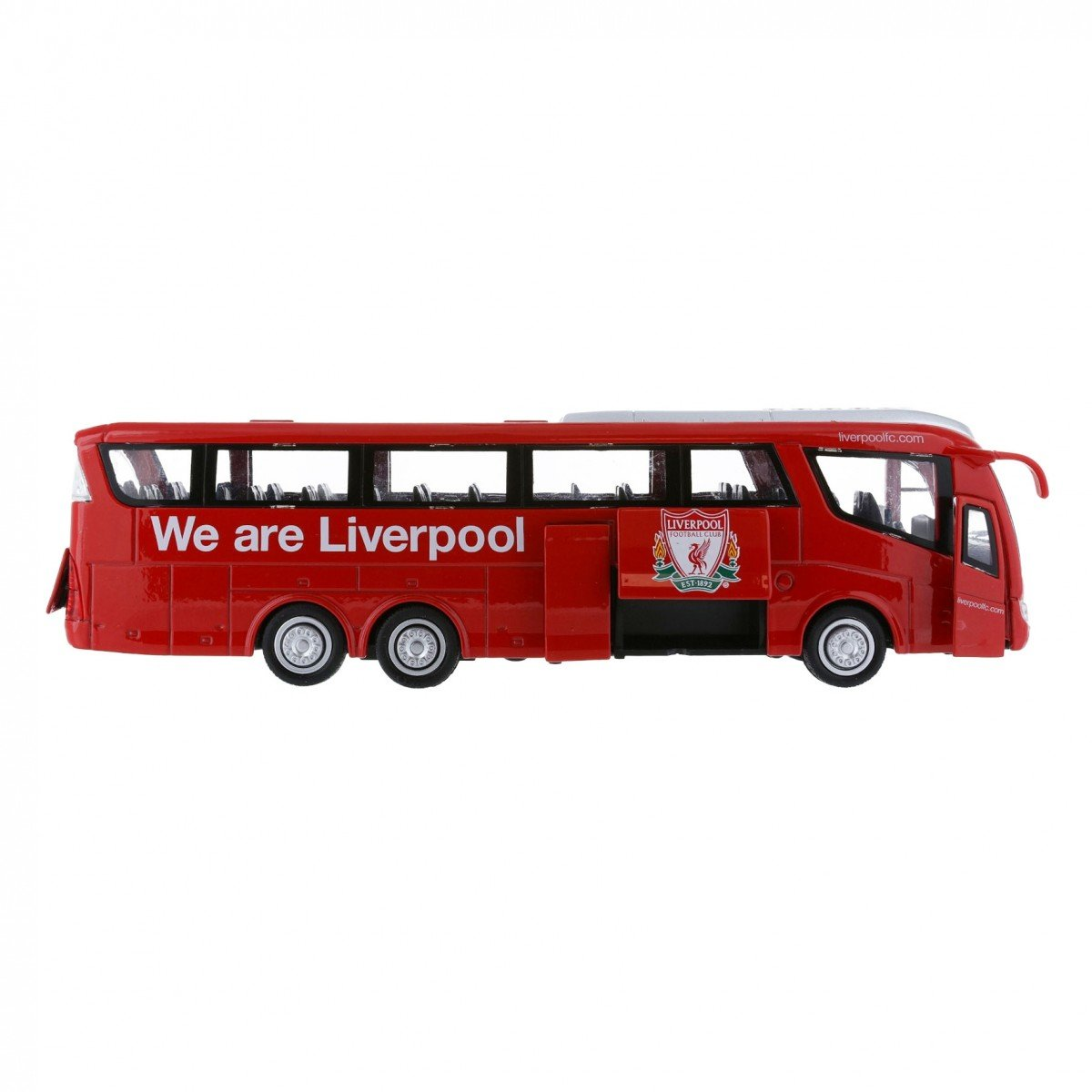 Liverpool FC Team Bus Modell - Fanartikel - Fanshop