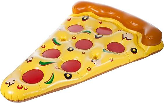 Colchoneta hinchable de Smartfox tamaño XXL, trozo de pizza, para ...