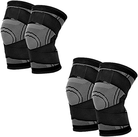 Cycling Comfort Soft Knee Brace Support Pads Sleeve Guard Protector M//L//XL//XXL
