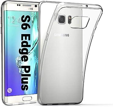 EasyAcc Funda para Samsung Galaxy S6 Edge Plus TPU Transparente Suave Protector para el Samsung S6 Edge: Amazon.es: Electrónica