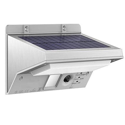 Lámparas Solares, iThird 21 LED Luz Solar con Sensor de Movimiento Focos Impermeable Luz Solar