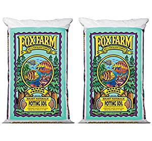 (2) Foxfarm FX14000 Ocean Forest Organic Potting Soil Bags 6.3-6.8 pH | 3 Cu Ft