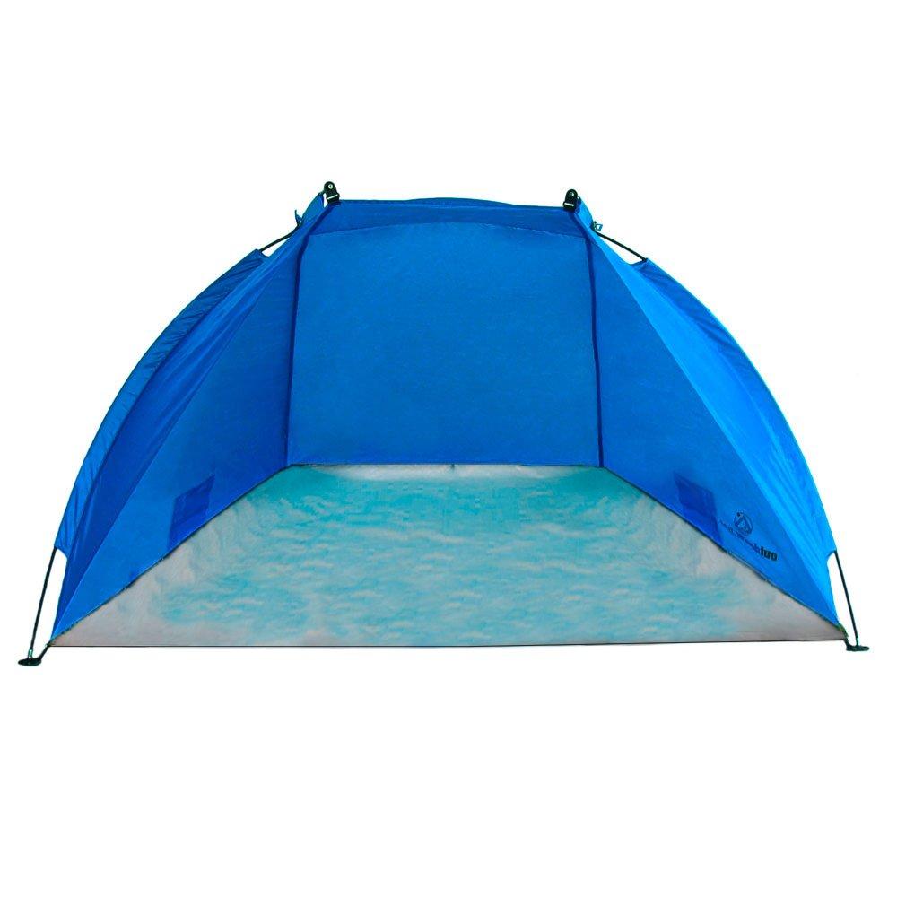 Outdoorer Tienda de Playa Helios, azul, UV 60, extra ligera, pack mini 0609613612329