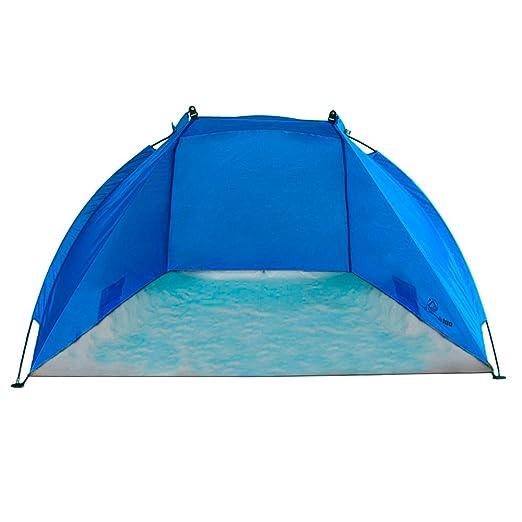 7 opinioni per Outdoorer tenda da spiaggia Helios, blu, anti-UV 60, estremamente leggera,