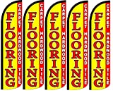 Flooring_Carpet_Hardwood_Tile King Swooper Windless Flag- Pack of 5 (Hardware not included)