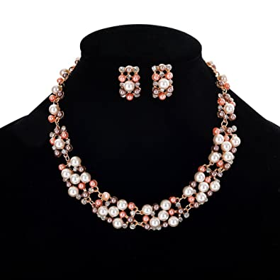 CZ 925 Sterling Silver Bezel Set Necklace and Earrings Set