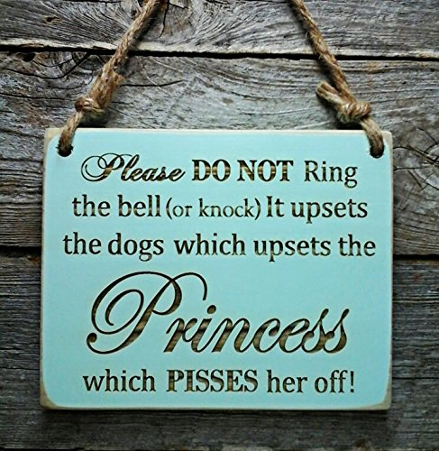 Amazon Princess Sign Please Do Not Knock Sign Sleeping Sign