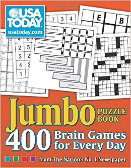 Usa Today Jumbo Puzzle Book 400 Brain Games For Every Day Usa
