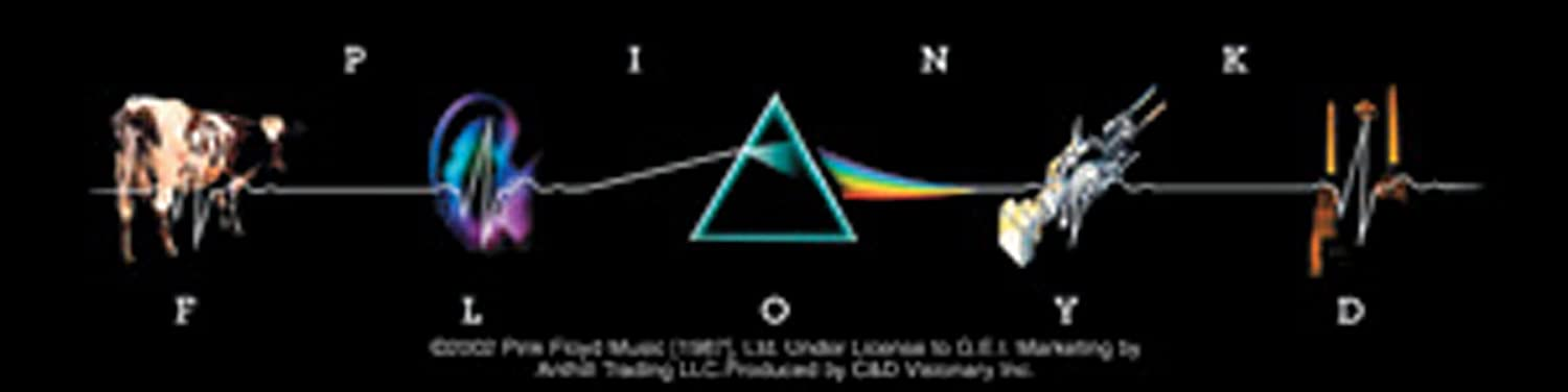 C&D Visionary Licenses Products Pink Floyd L.P. Collage Sticker
