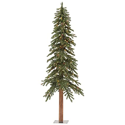 5ac81deb5fc Image Unavailable. Image not available for. Color  Vickerman 9  Natural  Alpine Christmas Tree with 500 Multi-colored LED lights