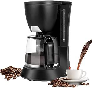 Amazon.com: Yuehuam Drip Coffee Maker Coffee Pot Machine, Home Coffee Brewer, Thermal Drip With ...