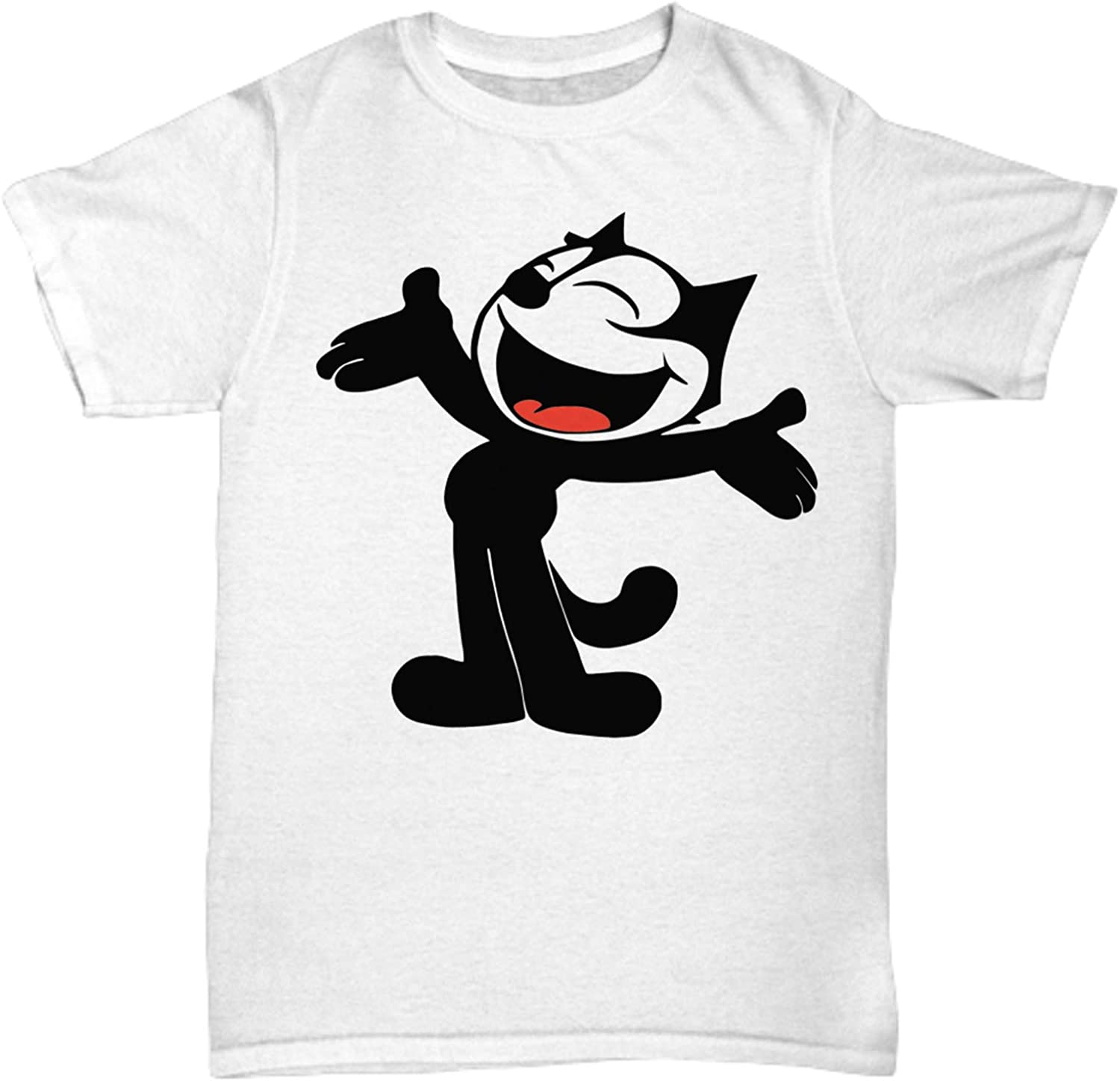 Felix The Cat Classic Cartoon Retro T Shirt Mens White Tee Gift New From US