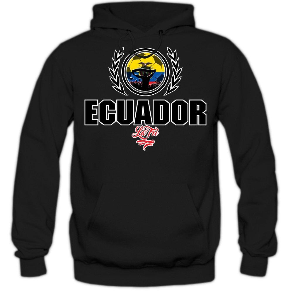 Shirt Happenz Fútbol Ecuador V2 Sudadera con Capucha | Hombre | Fútbol | Equipo Nacional | Selección Nacional | Ecuador | La Tri | Hoody: Amazon.es: Ropa y ...