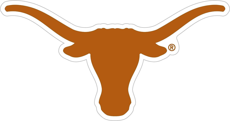 NCAA Siskiyou Sports Fan Shop Texas Longhorns Logo Magnets 8 inch sheet Team Color
