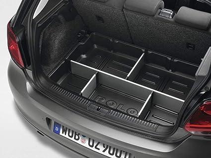 Amazon.es: Maletero con separadores Maletero original VW Polo 5 ...