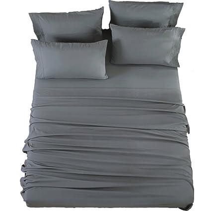 Amazoncom Bed Sheets Super Soft Microfiber 1800 Thread Count