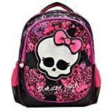 Monster High Deluxe 3D Plush Velvet Large 16 Backpack Girls