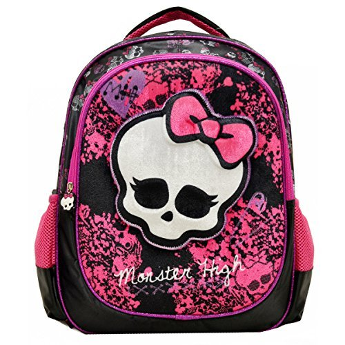 Monster High Deluxe 3D Plush Velvet Large 16 Backpack Girls (Monster High Girls Names)