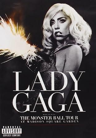 LADY GAGA-MONSTER BALL TOUR LIVE(DVD: Amazon co uk: DVD & Blu-ray