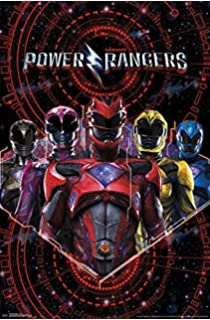 Image result for power rangers movie poster 2017