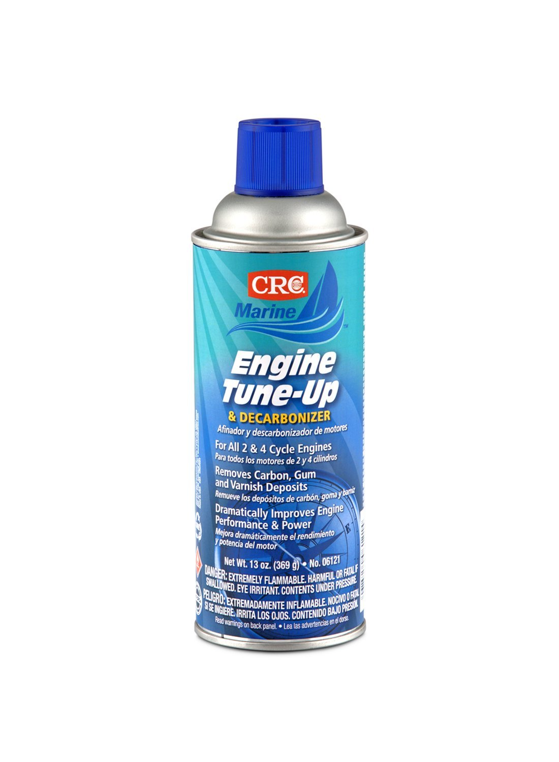 CRC (06121-12PK) Marine Engine Tune-Up and Decarbonizer - 13 oz., (Pack of 12) by CRC