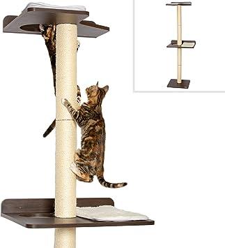 Amazon.com: PetFusion Ultimate Cat Torre de escalada y árbol ...