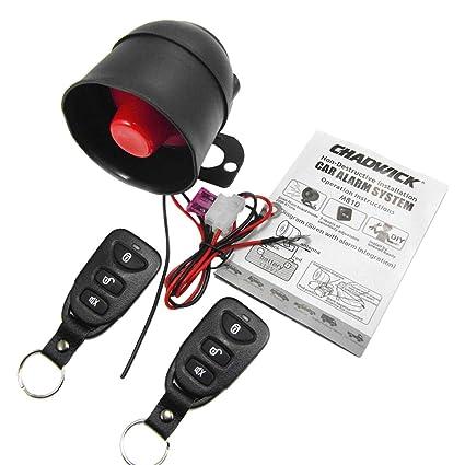 Amazon com: B Blesiya Auto Car Alarm Start Stop Security