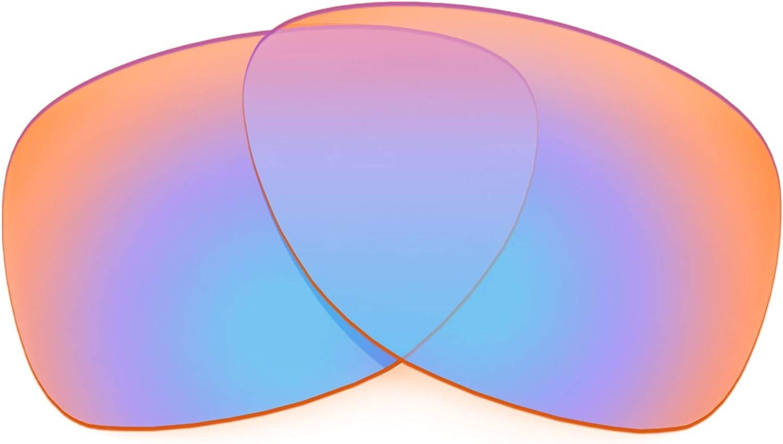 Revant Verres de Rechange pour Oakley Dispatch 2 - Compatibles avec les Lunettes de Soleil Oakley Dispatch 2 Orange Traceur Mirrorshield - Non Polarisés Elite