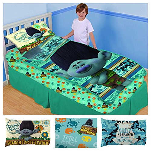 Dreamworks Trolls Branch 3 Piece Bedding Set - Item 4