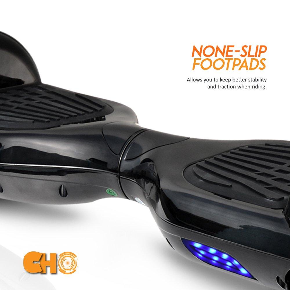 Amazon.com: CHO - Patinete eléctrico de 6,5 pulgadas con ...
