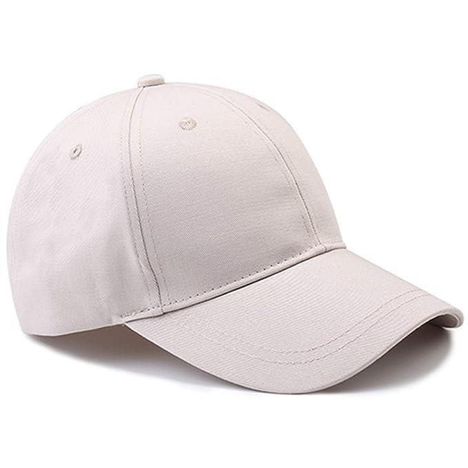 Gorras De Béisbol De Verano Gorra De De Ocasional Deporte Verano Sombrero De Protección De Sol