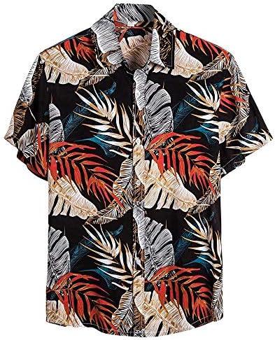 シャツ メンズ 半袖 花柄 ポロシャツ ゆったり ラペル ハワイアンシャツ カジュアル tシャツ プルオーバー オシャレ ビジネス ティーシャツ 人気 トップス 夏服 通勤 おしゃれ トレーナー ゴルフ ビーチ 旅行 休暇スタイル