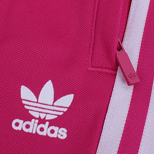 adidas Originals Europa TP Track Pants Sporthose Trainingshose Magenta Pink Weiß