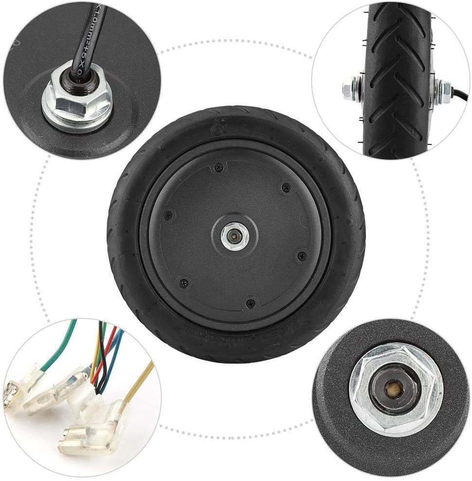 Unibell 250W Motor with Wheel Tire for Xiaomi M365 Electric Scooter Replacement Part Accessory
