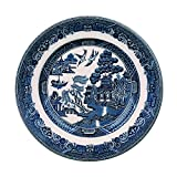 """Johnson Brothers Willow Blue Bread & Butter Plate, 6"""", Blue"""
