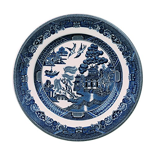 Blue Butter Plate - Johnson Brothers Willow Blue Bread & Butter Plate, 6