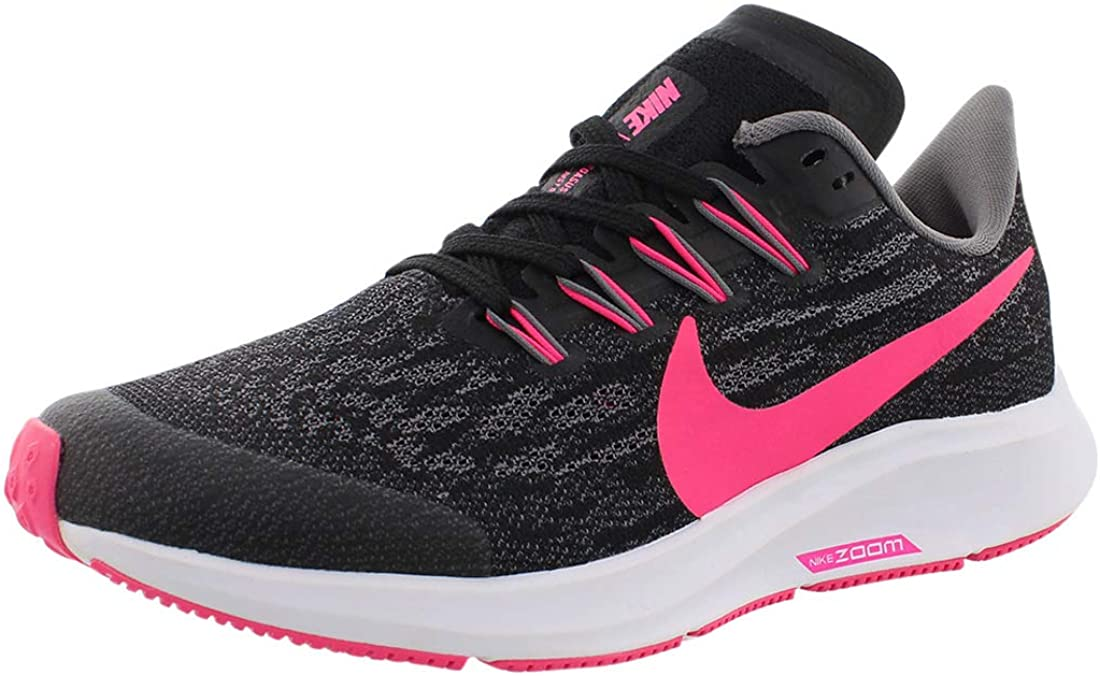Calamidad sistema Hábil  Amazon.com | Nike Air Zoom Pegasus 36 GS [AR4149-062] Kids Running Shoes  Black/White/US 6.5Y | Running