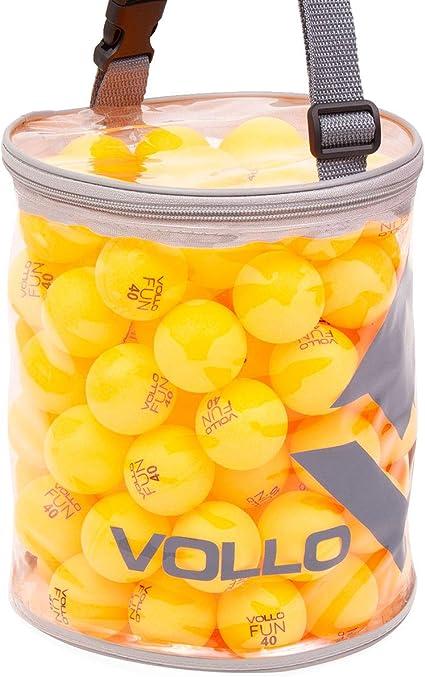 Vollo Sports Bola Tenis Mesa, Laranja (pacote de 100) : Amazon.com.br: Esporte