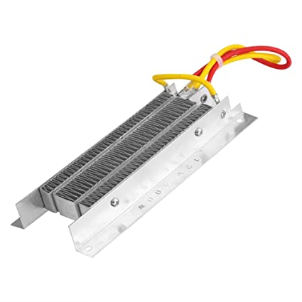 Calentador Eléctrico 12V 400W Cerámica Termostática Aislamiento Constante Temperatura PTC Elemento Calefactor