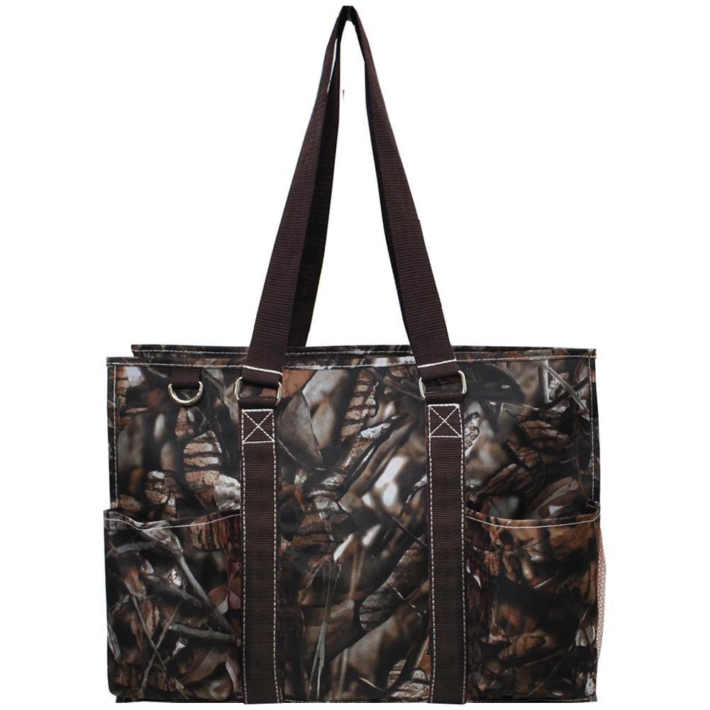 N Gil All Purpose Organizer Medium Utility Tote Bag 2 (Camo Brown)