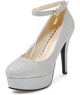 a01e3e33e6b97 Aisun Femme Simple Stiletto Chaussures Pour Mariage Escarpins ...