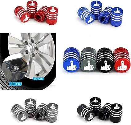 4 Unids/Set Coche Camión Moto Bicicleta Neumático Tapas de la ...