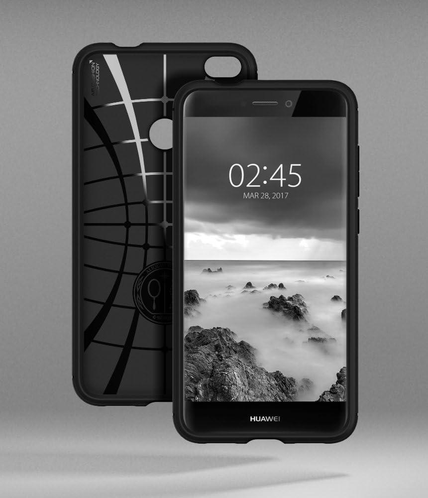 Spigen Rugged Armor Works with Huawei P8 lite 2017 /nova lite Case - Black