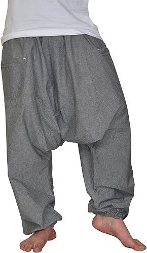 virblatt Pantalones cagados XXL de Color único con Entrepierna ...