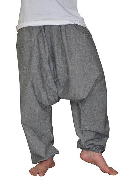 d2db4e8ab20a8 virblatt XXL pantaloni uomo cavallo basso un solo colore taglia unica L-XXL pantaloni  alla turca uomo donna come abbigliamento etnico - Unüberleg XXL gr  ...