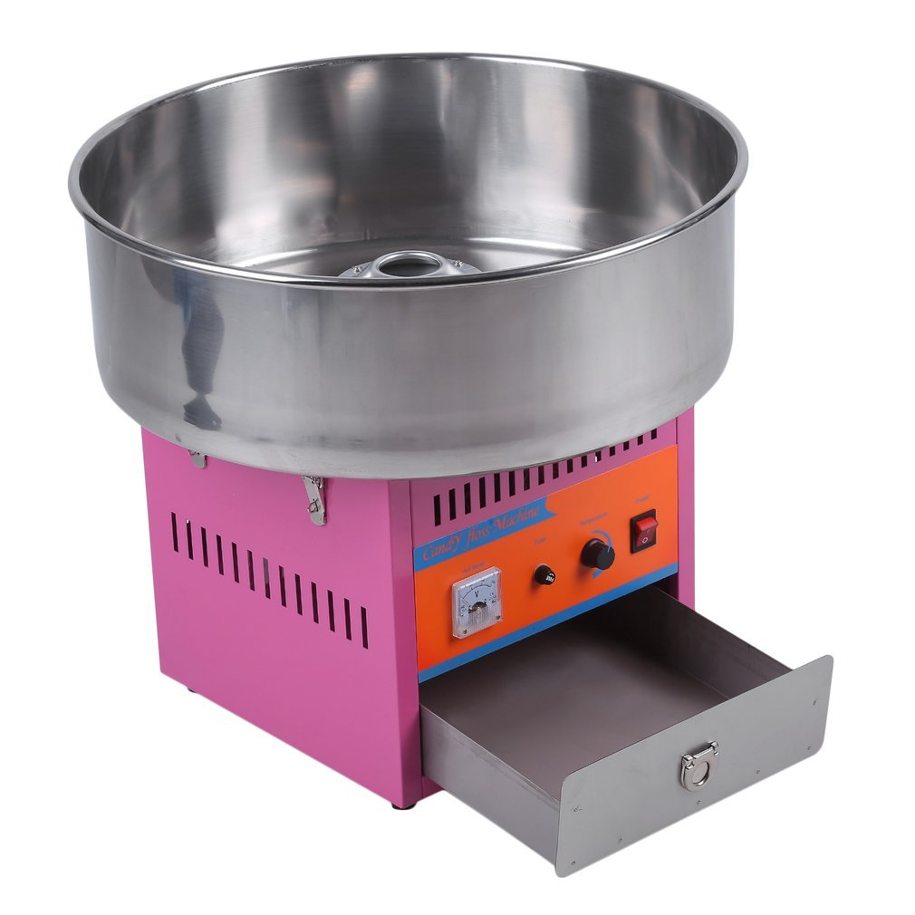 Full Automatical Commercial Cotton Candy Maker Machine Electric Cotton Candy Floss Machine,For Gathering Parties,Metal by Youghalwell (Image #3)